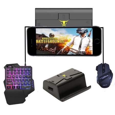 G1X PUBG Mobile Gamepad Controller Gaming Keyboard Mouse Android Phone to PC Converter Adapter for i-Phone Converter + keyboard + mouse - image 6 de 7