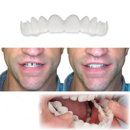 Instant Smile Veneer Set Comfort Fit Flex Denture Cosmetic