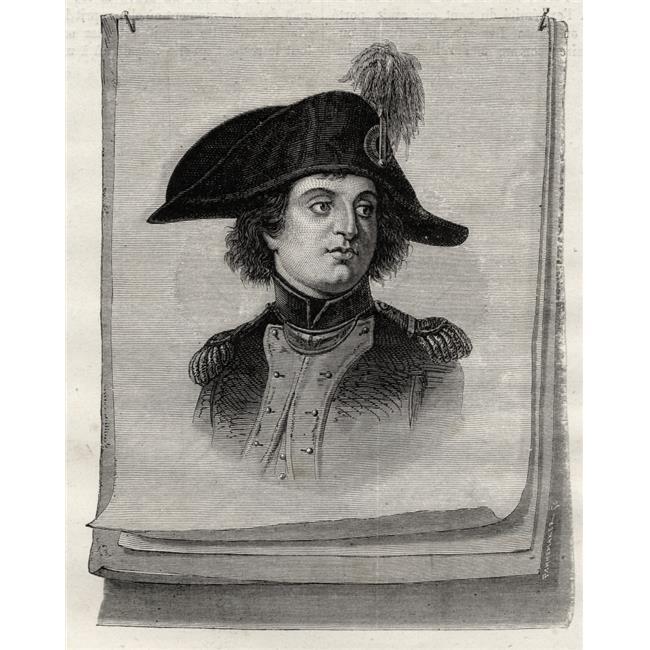 Posterazzi DPI1858062 Antoine Joseph Santerre 1752-1809 French Revolutionary From Histoire De La Revolution Francaise by Louis Blanc Poster Print, 13 x 17 - image 1 de 1