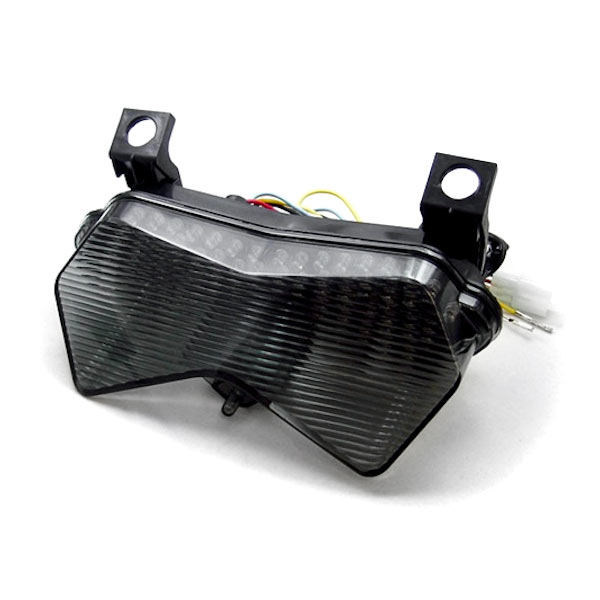 Smoke LED Tail Light Integrated with Turn Signals For 2004 Kawasaki Ninja ZX-6R 636 - image 1 of 1