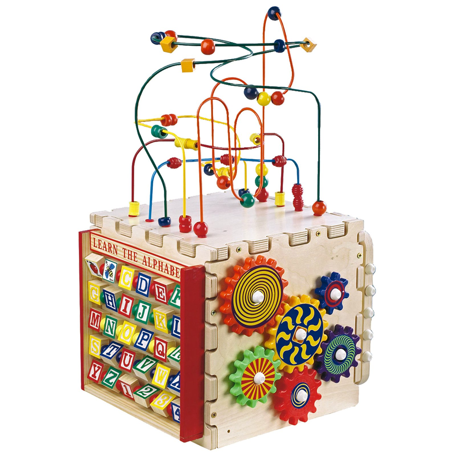 Anatex Deluxe Mini Cube Activity Center