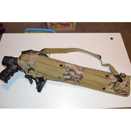 Shotgun Rifle Scabbard Multicam Camo MOLLE Tactical Sling Mossberg (Best Tactical Stock For Remington 700)