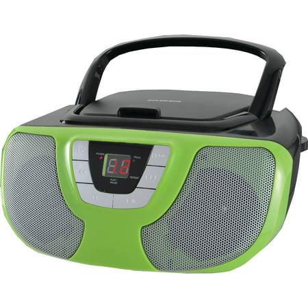 SYLVANIA SRCD1025-TEAL Portable CD Radio Boom Box (Teal)
