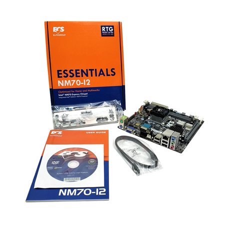 NM70-I2 V1 Celeron 1037U ECS V1.0 NM70 Chipset Intel MINI-ITX Motherboard CPU Combo Motherboard & CPU - Ready To Go Combos ()