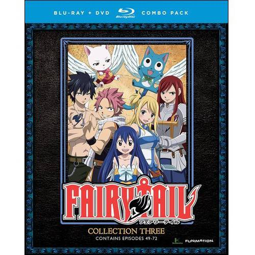 Fairy Tail Collection Three (Blu-ray + DVD) (Japanese)