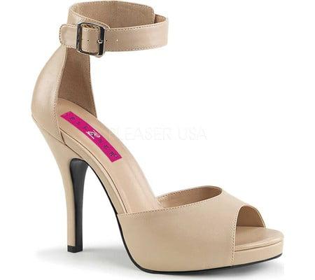 Women's Pleaser Pink Label Eve-02 Ankle Strap Sandal