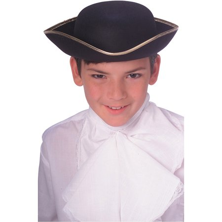 Durashape Tricorn Hat Child Halloween - Halloween Black Nurse Hat