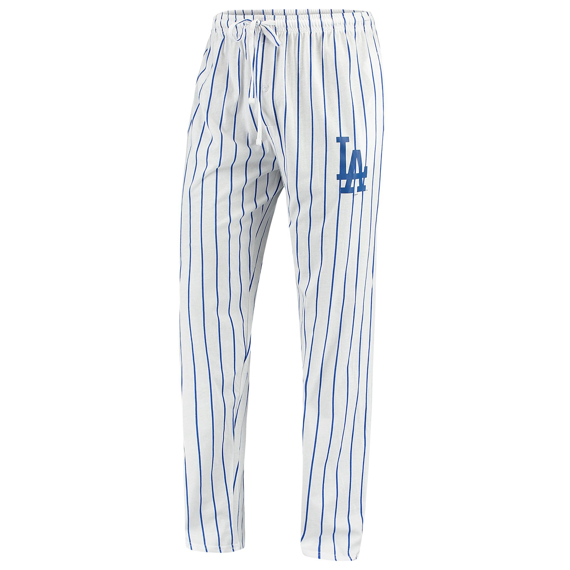 Los Angeles Dodgers Concepts Sport Vigor Lounge Pant - White/Royal
