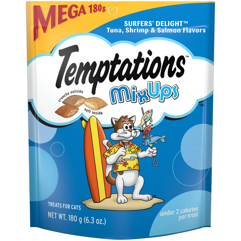Temptations Mixups Treats For Cats Surfer\'S Delight Flavor, 6.3 Oz. Pouch