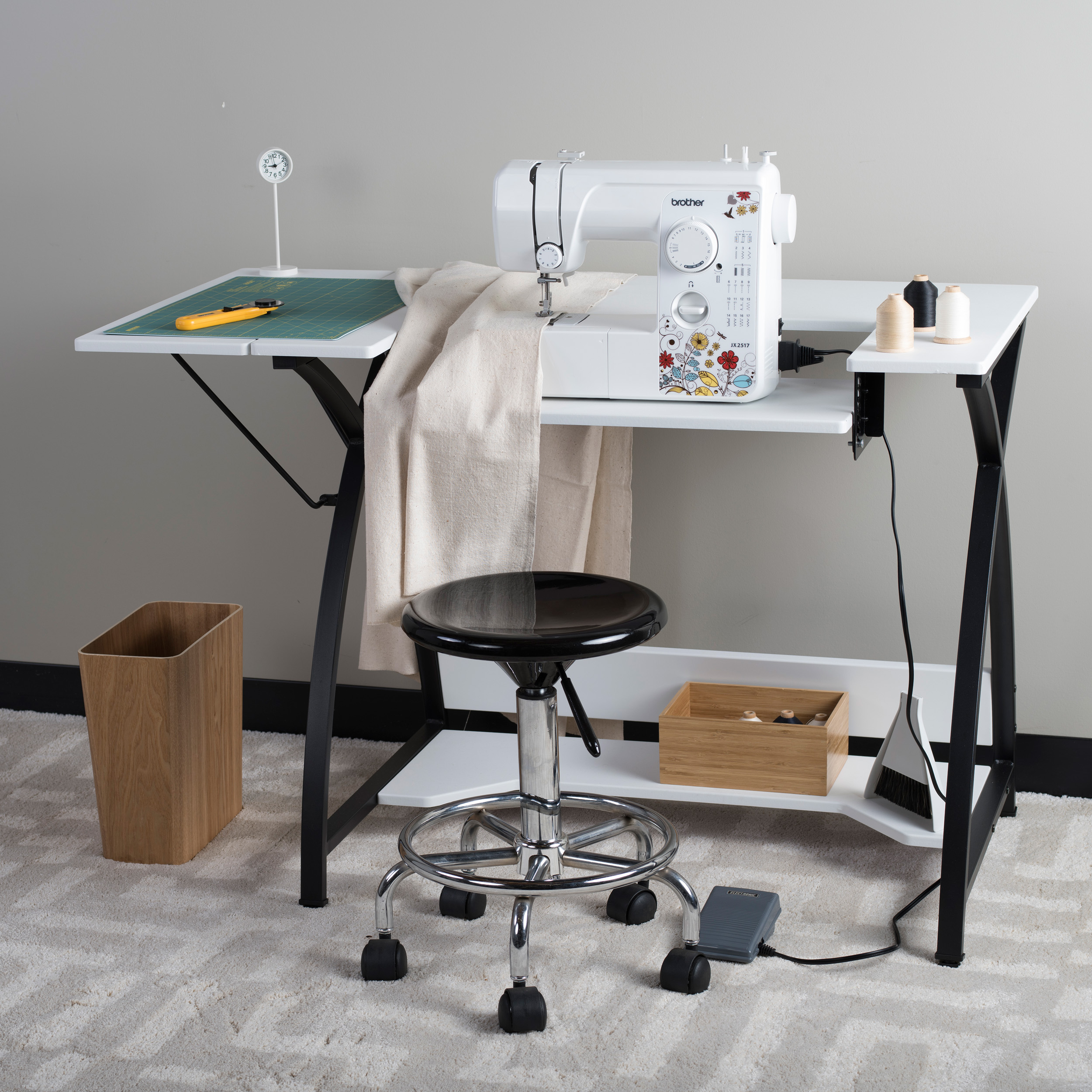 Sew Ready Comet Modern Sewing Table