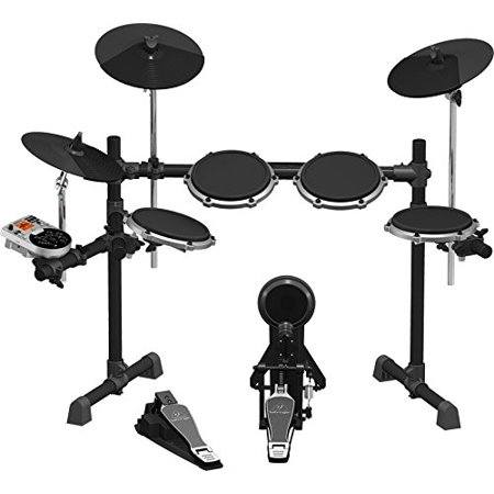 (Behringer XD80USB High-Performance 8-Piece Electronic Drum Set w/175 Sounds, 15 Drum Sets, LCD Display and USB/MIDI)
