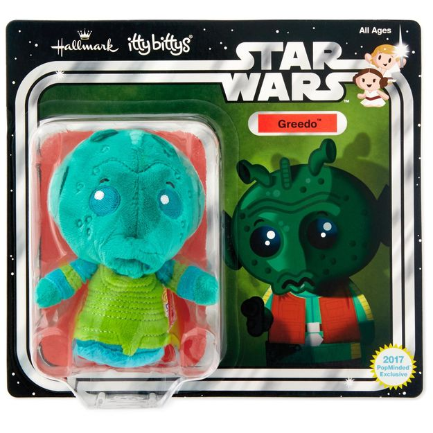 itty bittys® Star Wars: A New Hope™ Greedo™ Stuffed Animal Limited Edition