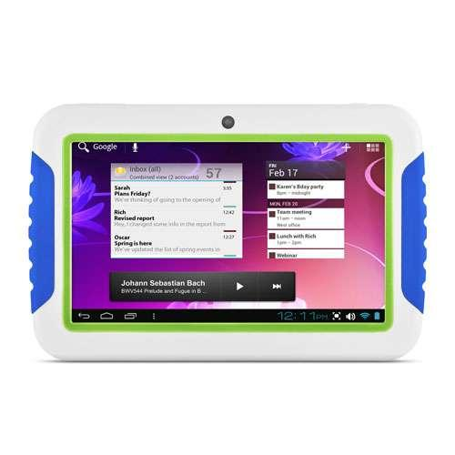 "Ematic FunTab Internet Tablet - Android 4.1 Jelly Bean OS, 7"" Multi-touchscreen,"