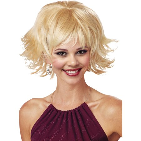 Morris Costumes Womens Trippy Shag Adult Halloween Wig Accessory, Style, MR177027