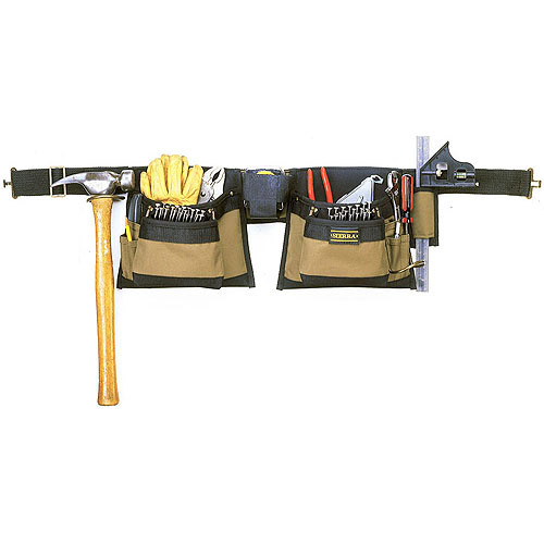 Custom Leathercraft 1429 12-Pocket Tool Belt Work Apron by Custom Leathercraft