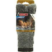 Thermal Dry Knit Crew Socks 2-Pack