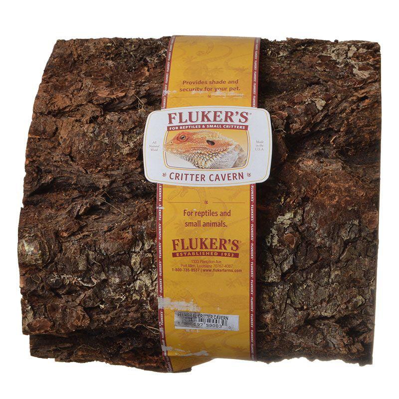 Fluker's Half Log Shelter for Reptiles, XLG