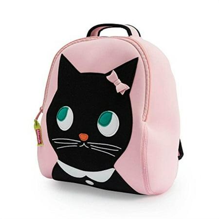 Dabbawalla Bags Preschool and Toddler Kitty Backpack, Pink