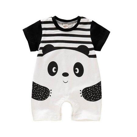 KidUtowu Infant Newborn Baby Panda Romper Jumpsuit Clothes Playsuit](Panda Jumpsuit)