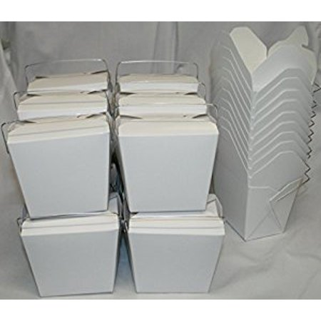 Chinese Take Out Food Boxes: 16 oz. (1 Pint) Lot Of 50 - (Take Scratches Out Of Glasses)