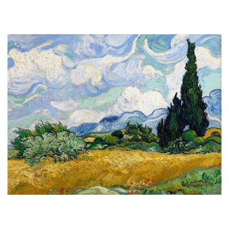 Oriental Furniture Wheat Field by Van Gogh Wall Art (Oriental Art Supply)