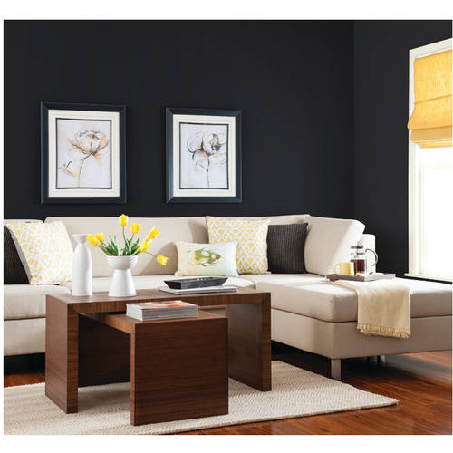 ... Onyx Glidden Pre Mixed Ready To Use, Interior Paint And Primer,  Eggshell Finish, ...