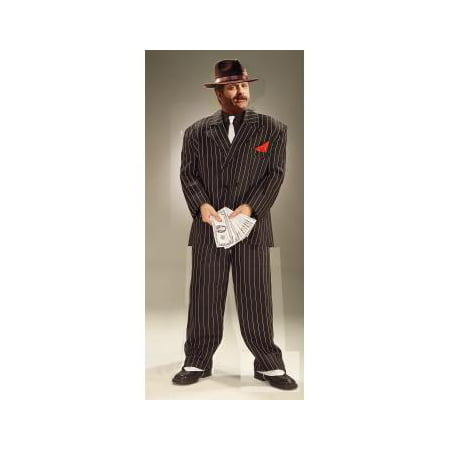 Adult XL Chicago Gangster Halloween Costume - Gangster Costume For Boys