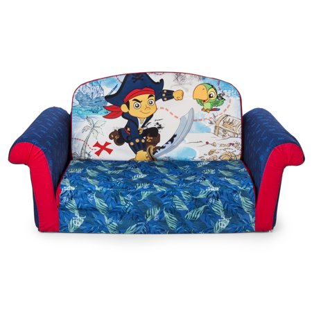 Marshmallow Furniture Childrens 2 In 1 Flip Open Foam Sofa Jake