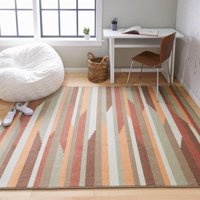 Mohawk Home Mayberry Printed Rug in Gray, 5'x7'
