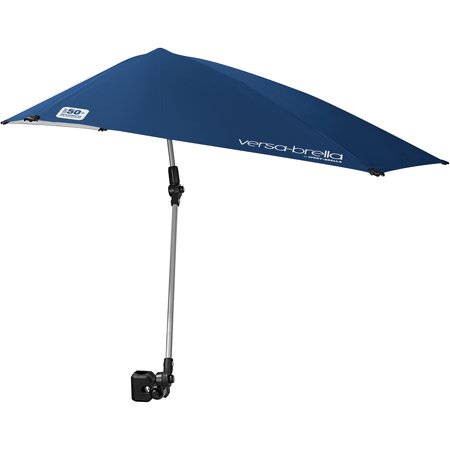 Versa Brella 360 Degree Clip Umbrella Midnight Blue Walmart Com