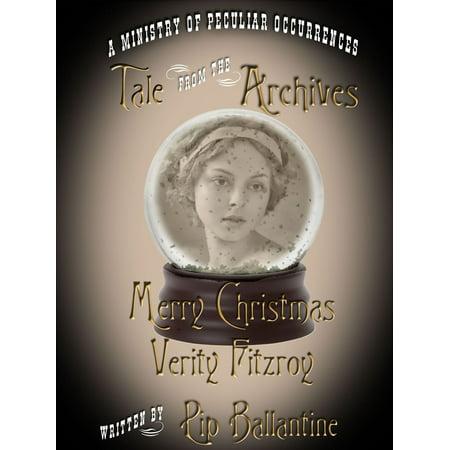 Merry Christmas, Verity Fitzroy - eBook ()