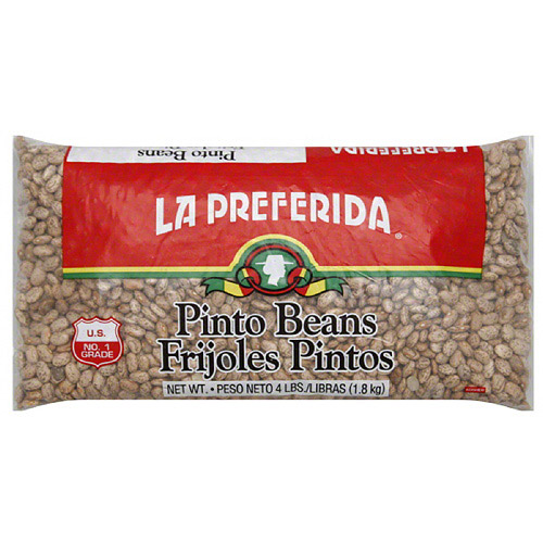 La Preferida Pinto Beans, 4 lbs, (Pack of 6)