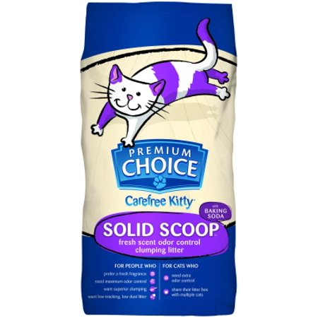 American colloid company premium choice carefree kitty for American choice