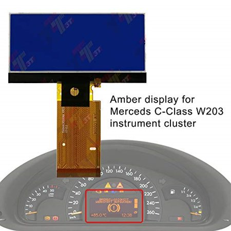 allway instrument speedometer cluster lcd screen display for mercedes-benz w203 c230 c240 c320 c-class 2001-2004