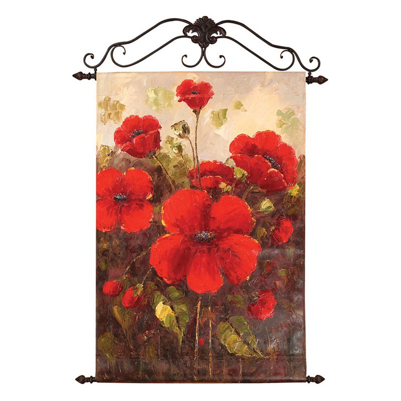 Glorious Poppies - 24W x 36H in.