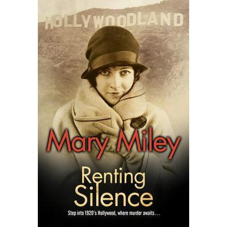 Renting Silence : A Roaring Twenties Mystery (Roaring Twenties Table Decorations)