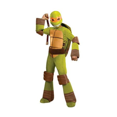 Best 80s Costumes For Couples (Teenage Mutant Ninja Turtles Deluxe Michelangelo Costume,)