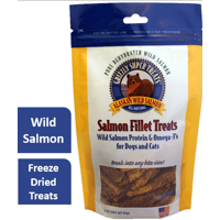 Grizzly Salmon flavored Super Treats for Dogs and Cats, 3oz.