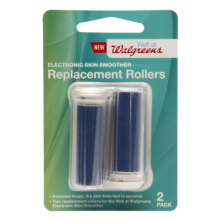 Walgreens Electronic Foot Smoother Refills 2.0 EA(pack of 4)
