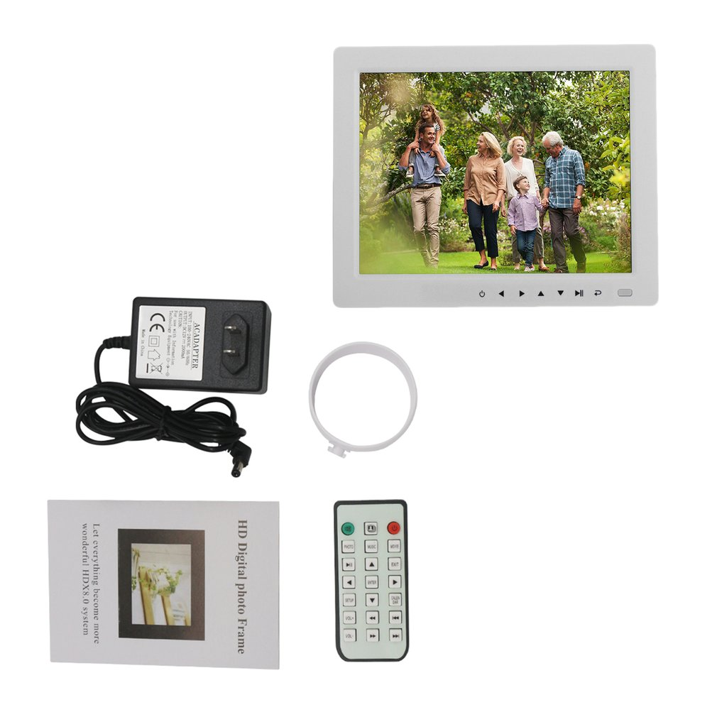 10 inch HD TFT LCD Digital Picture Photo Album Frame Music Video ...