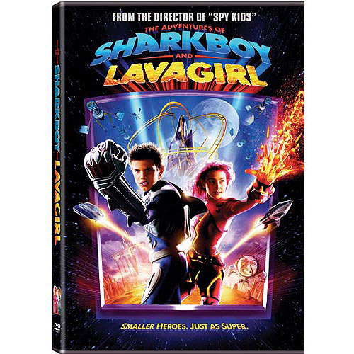 The Adventures of Sharkboy and Lavagirl dvd