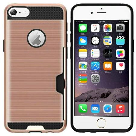new style 8597b 802e5 Apple iPhone 6 Plus/6s Plus Case, by Insten Hard Plastic/Soft TPU ...