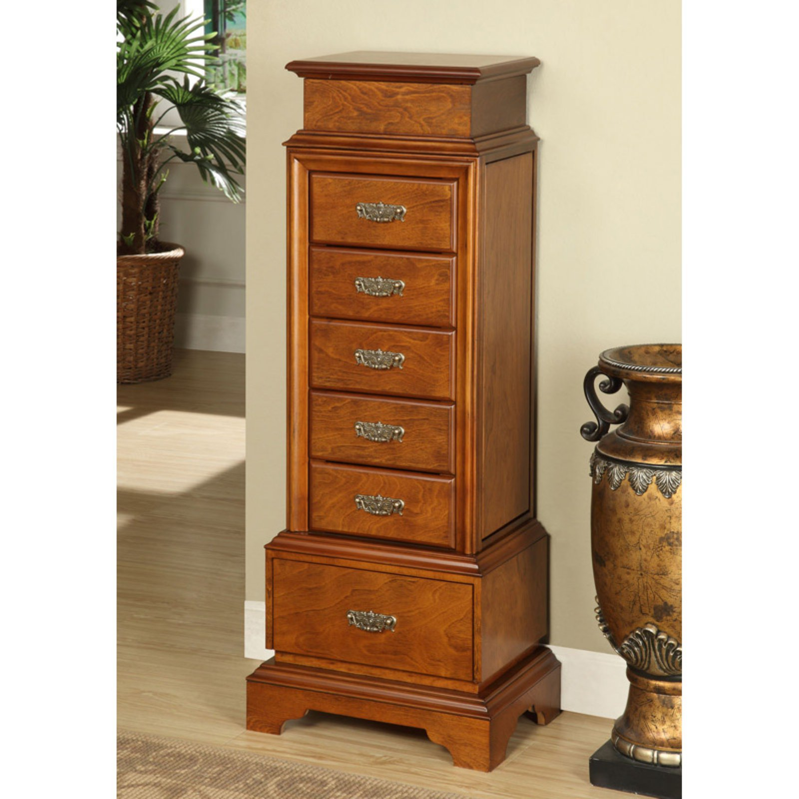 Linon Riley Jewelry Armoire