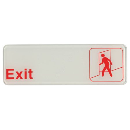 Update International Self Adhesive Exit Sign