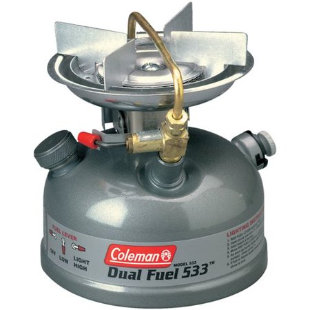 - Coleman Guide Series Compact Dual Fuel Stove