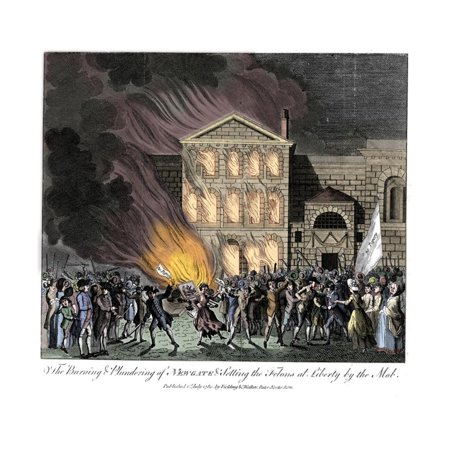 Anti-Catholic Gordon Riots, London, 6-7 June 1780 Print Wall Art](Riots London Halloween)