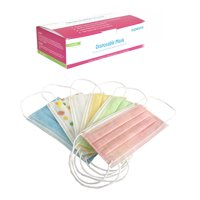 Disposable 3-PLY Color Earloop Masks with 6 Colors, 30 ct