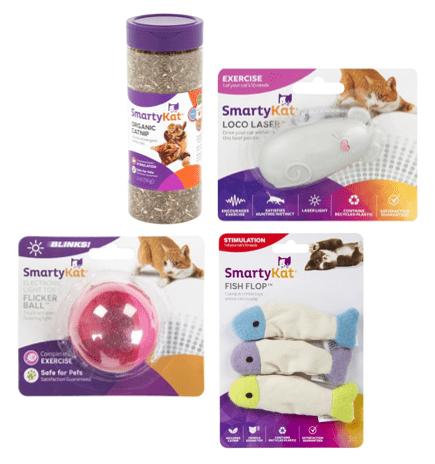 Best of SmartyKat Catnip and Laser Toys