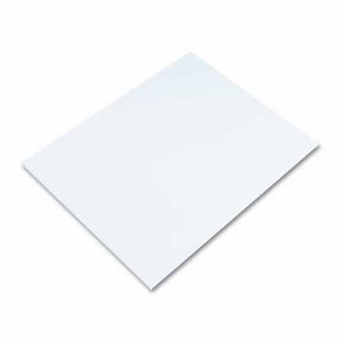 Elmer's Products Inc White Poster Board, 50 Carton by ELMER'S