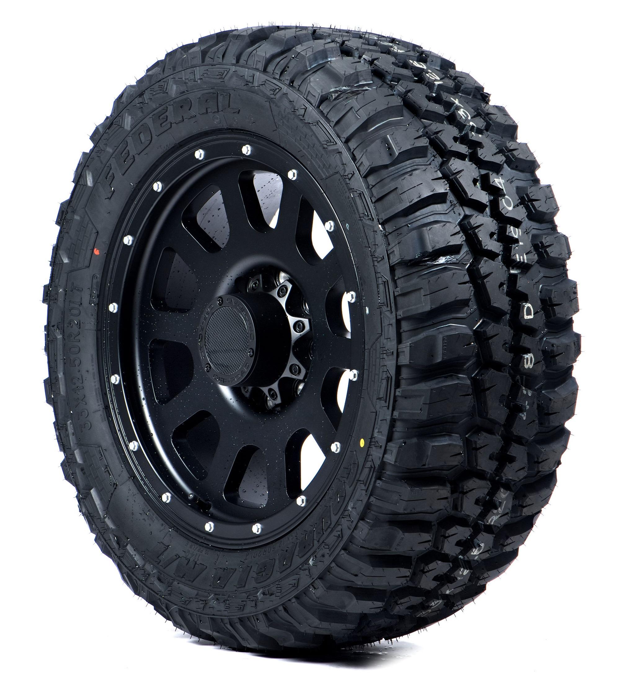 Federal Couragia M/T Mud Terrain Tire - 35X12.50R17 125Q E (10 Ply)